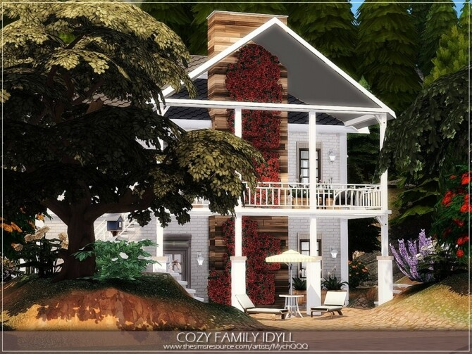 Cozy Family Idyll by MychQQQ at TSR image 5123 670x503 Sims 4 Updates