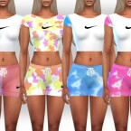 New Style Athletic Crop Tops by Saliwa