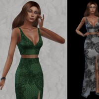 Janelle gown by Pipco