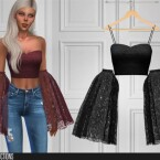 Detached bell sleeves top 449 by  ShakeProductions