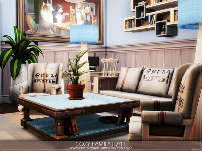 Cozy Family Idyll by MychQQQ at TSR image 5318 670x503 Sims 4 Updates