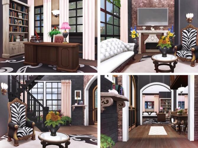 Sims 4 Edvard house by Rirann at TSR