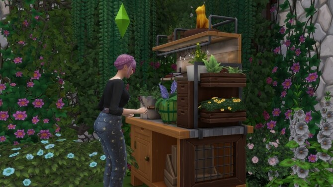 Sims 4 Even More Trouble With Plants by Pinkerchu at Mod The Sims