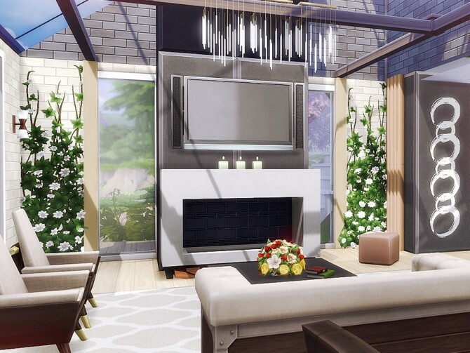 Sims 4 Winnie cottage by Rirann at TSR