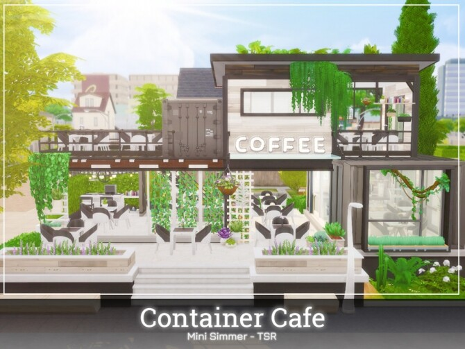 Container Cafe by Mini Simmer at TSR image 560 670x503 Sims 4 Updates