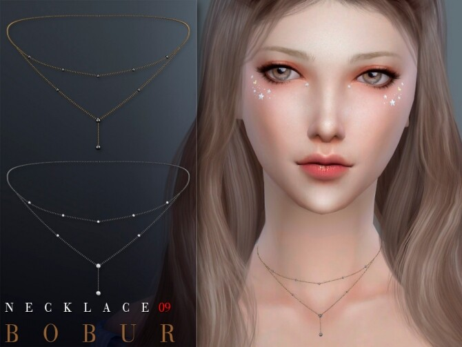 Sims 4 Necklace 09 by Bobur3 at TSR