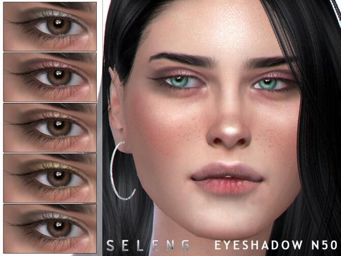 Sims 4 Eyeshadow N50 by Seleng at TSR
