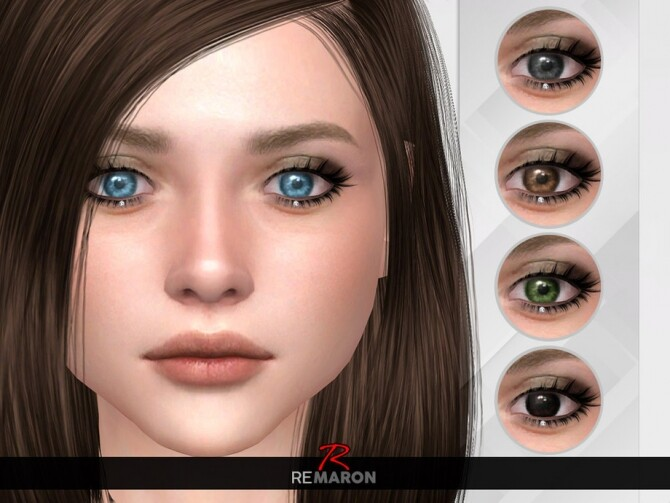 Sims 4 Realistic Eye N11 All ages by remaron at TSR