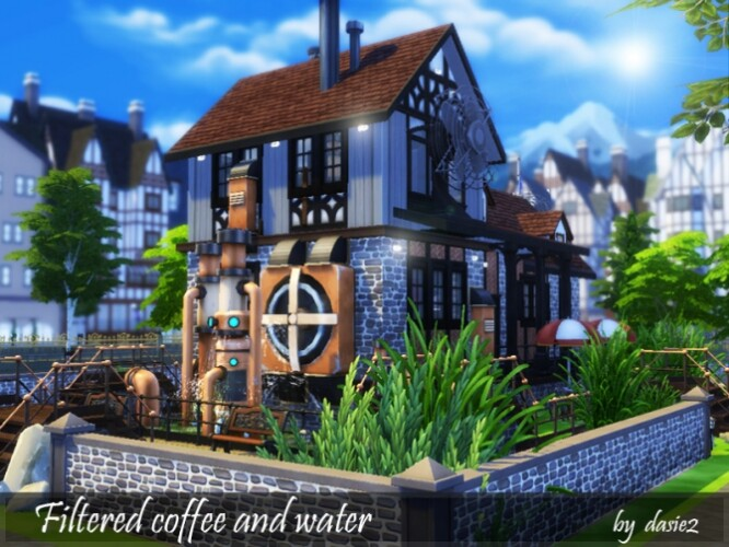 FILTERED COFFEE AND WATER by dasie2