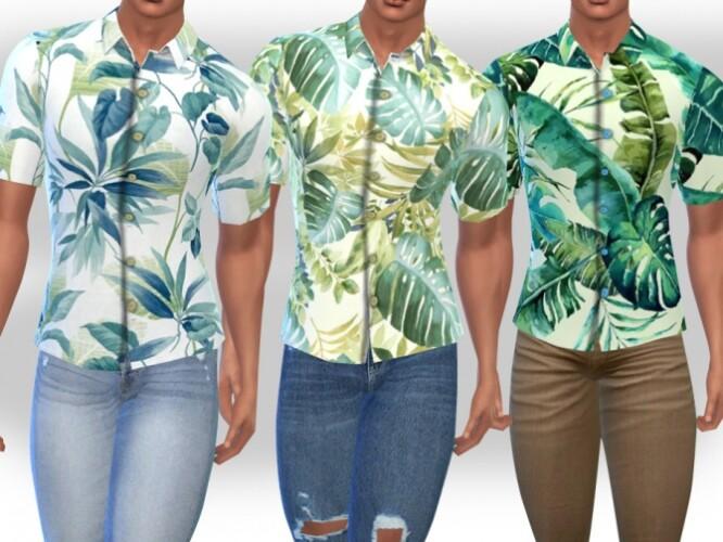 Hawaiian Style Summer Shirts by Saliwa