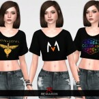 Band Shirt 01 for Women by remaron