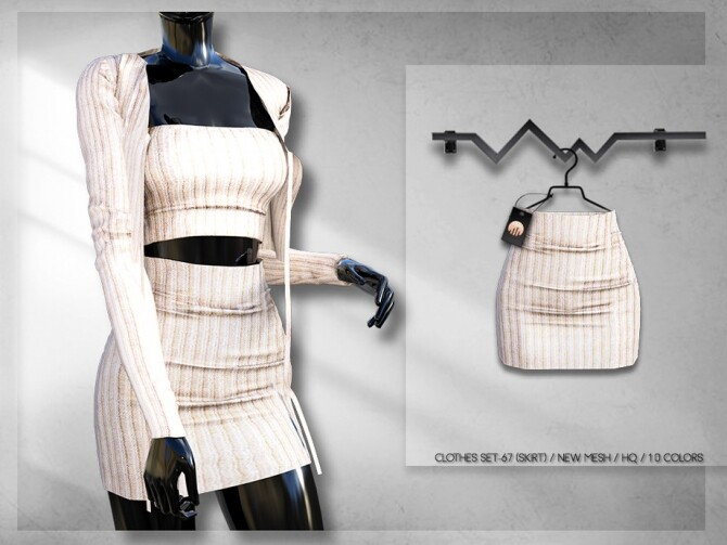 Clothes SET 67 SKIRT BD262 by busra tr at TSR image 5919 670x503 Sims 4 Updates