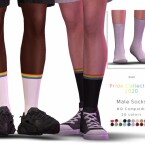 Male Pride Socks by DarkNighTt
