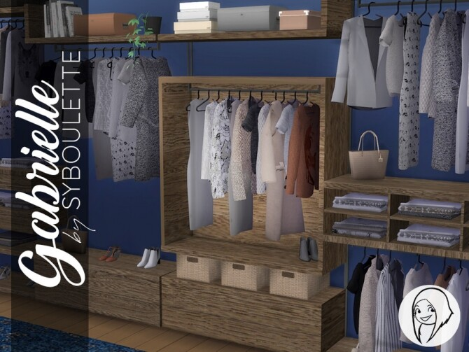 Gabrielle Dressing Closet by Syboubou at TSR image 6101 670x503 Sims 4 Updates