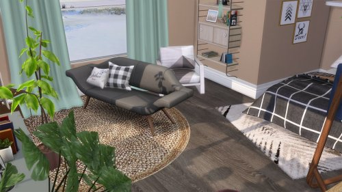 Neutral bedroom at Celinaccsims image 611 Sims 4 Updates