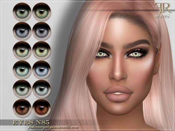 Sims 4 FRS Eyes N85 by FashionRoyaltySims at TSR
