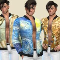 Artistic Open Jacket by Birba32