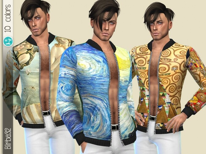 Artistic Open Jacket by Birba32 at TSR image 6112 670x503 Sims 4 Updates