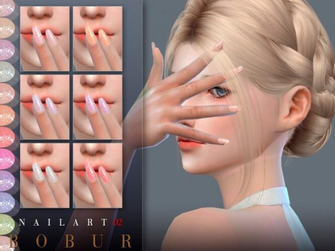 Nails 02 by Bobur3