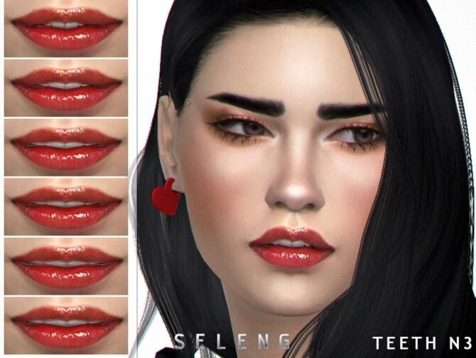 Sims 4 Teeth N3 by Seleng at TSR