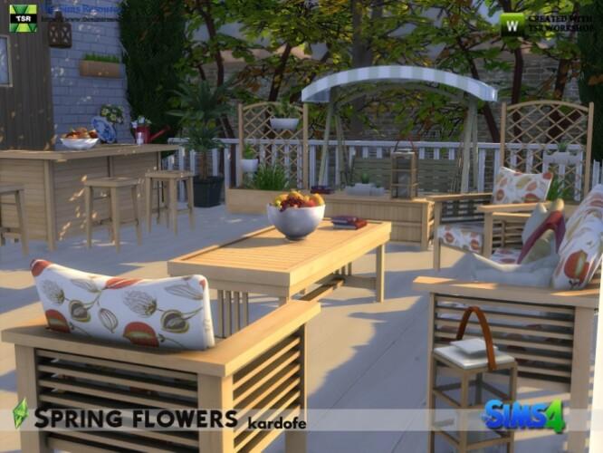 Spring flowers garden by kardofe