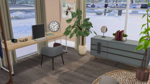 Neutral bedroom at Celinaccsims image 63 Sims 4 Updates