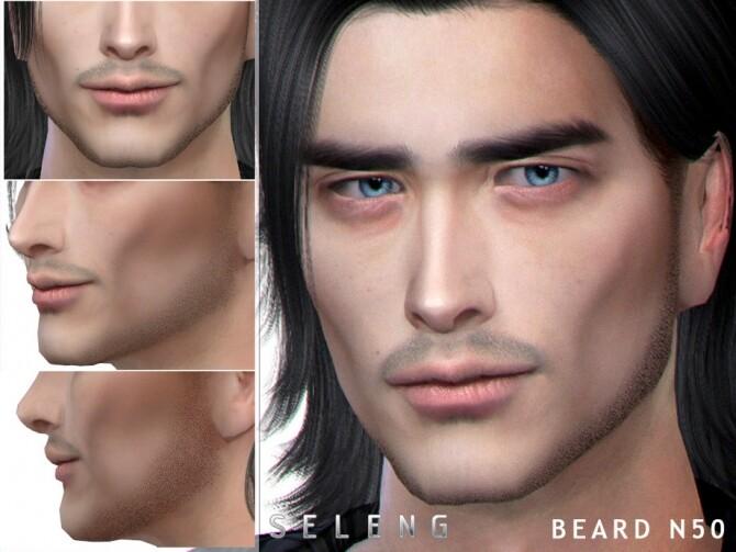 Sims 4 Beard N50 by Seleng at TSR