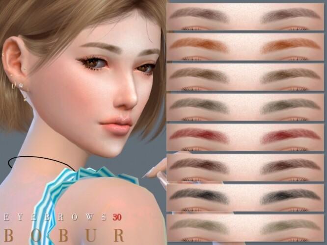 Eyebrows 30 by Bobur3