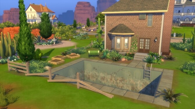 Sims 4 51 Road To Nowhere home No CC by Lux<3 at Mod The Sims