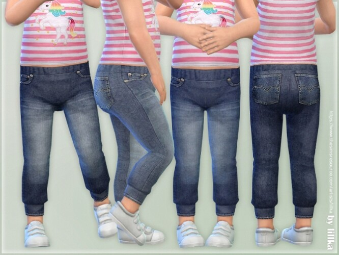 Toddler Jeans P08 by lillka