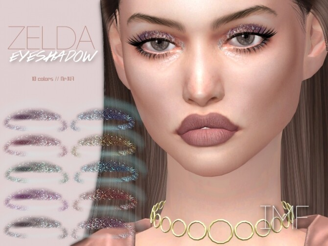 Sims 4 IMF Zelda Eyeshadow N.147 by IzzieMcFire at TSR
