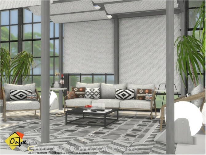 Clifford Outdoor Living by Onyxium at TSR image 6524 670x503 Sims 4 Updates