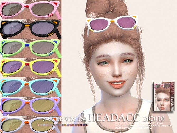 Headacc 202010 by S Club WM at TSR image 656 670x503 Sims 4 Updates