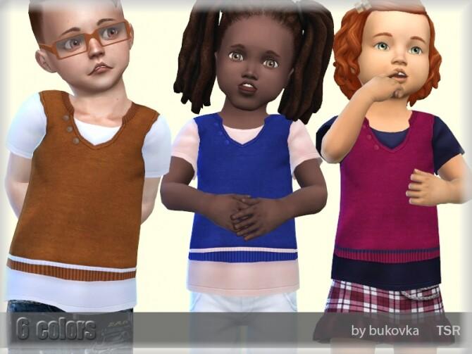 Shirt Toddler m/f by bukovka at TSR image 6610 670x503 Sims 4 Updates