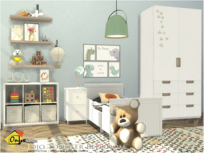 Jojo Toddler Bedroom by Onyxium