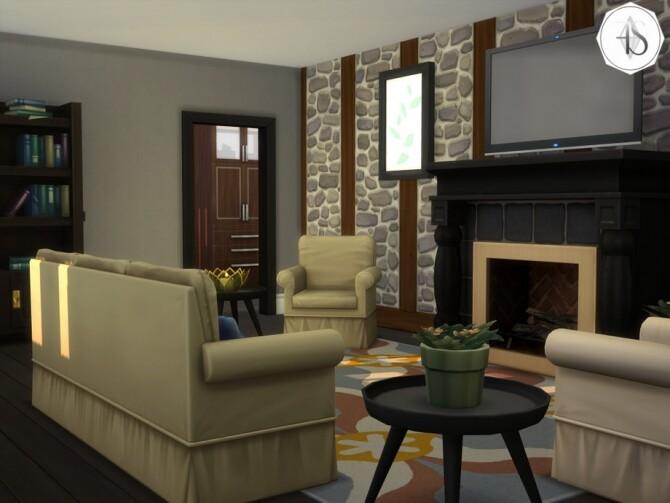 Sims 4 Sebastian house by francielesims at TSR