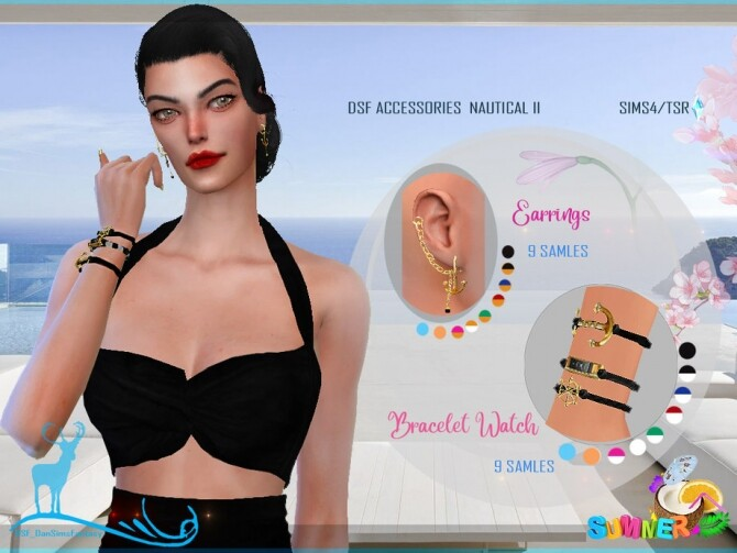 Sims 4 DSF ACCESSORIES NAUTICAL II by DanSimsFantasy at TSR