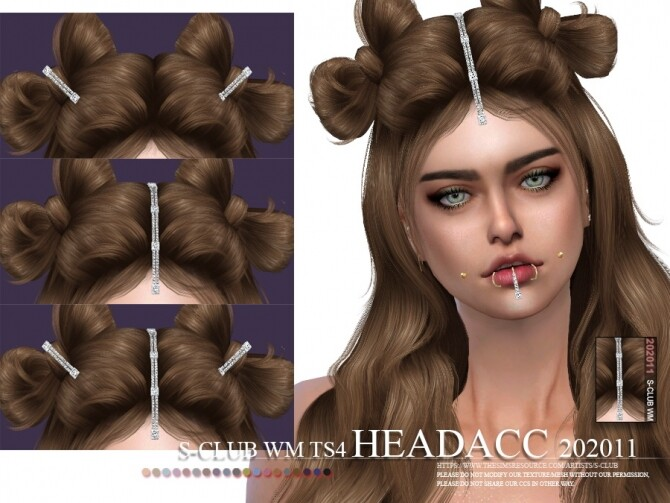 Headacc 202011 by S Club WM at TSR image 6716 670x503 Sims 4 Updates