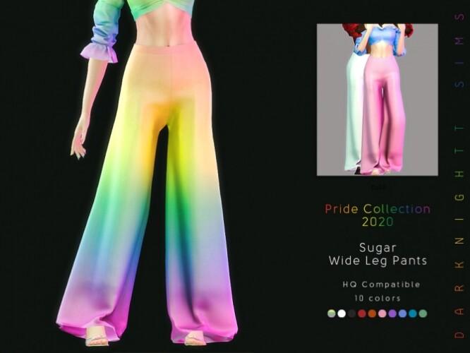 Sugar Wide Leg Pants by DarkNighTt