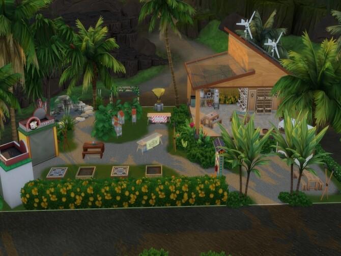 Sims 4 Sulani Community Garden by LJaneP6 at TSR