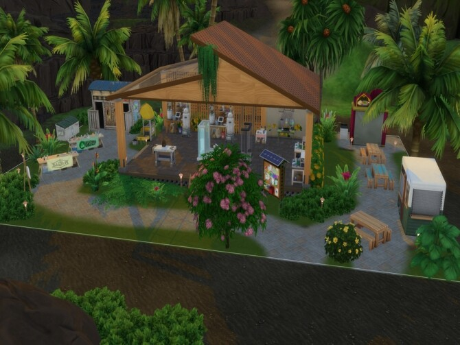 Sulani Maker Space by LJaneP6 at TSR image 690 670x503 Sims 4 Updates