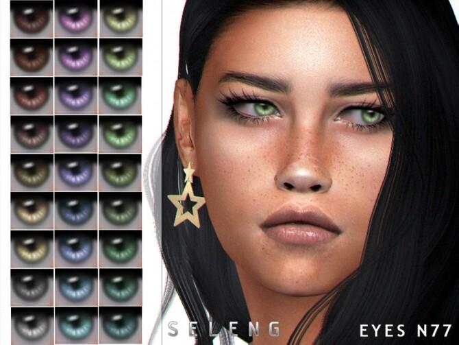 Sims 4 Eyes N77 by Seleng at TSR