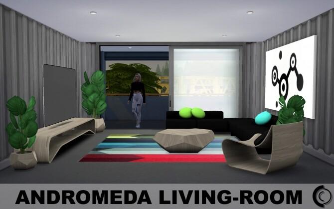 Andromeda Livingroom by Cicada
