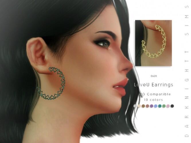 LoveU Earrings by DarkNighTt