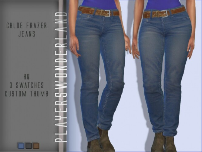 Chloe Frazer Jeans by PlayersWonderland