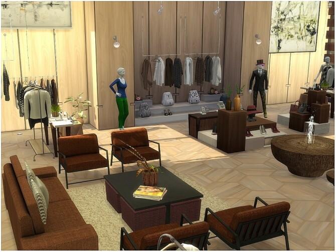JF Fashion modern clothing store by lotsbymanal at TSR image 739 670x503 Sims 4 Updates
