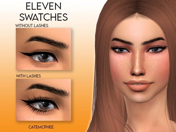 Sims 4 EL 01 Callie Liner by catemcphee at TSR
