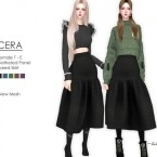 CERA Flared Skirt by Helsoseira
