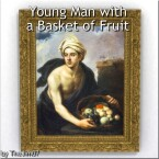 Young Man with a Basket of Fruit by TheJim07