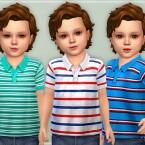 Toddler Boys Polo Shirt by lillka
